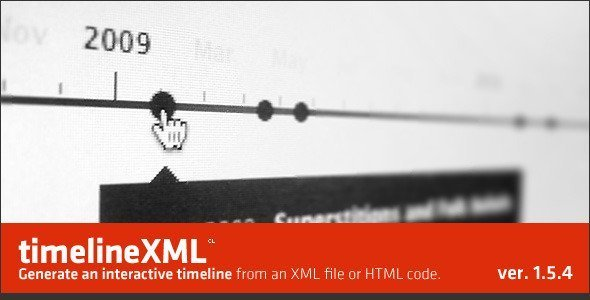 jQuery TimelineXML