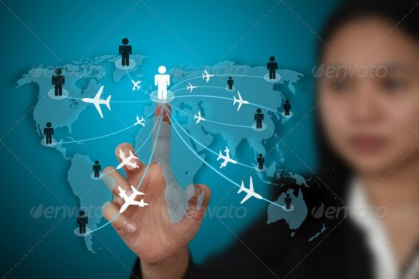 business travel transport concept - photodune free file