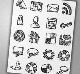 Charfish Free Sketch Icons