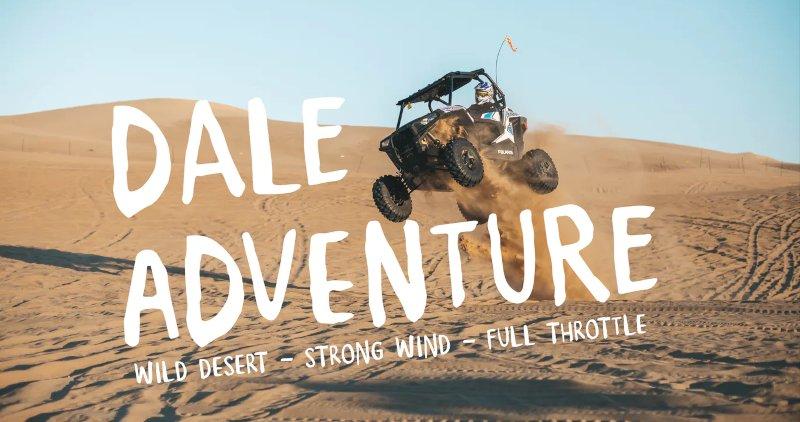 Dale Adventure - Exploration Font