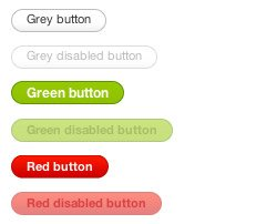 Pure CSS Buttons