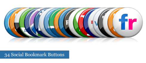 SoulVisual Social Bookmark Buttons