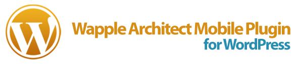 Wapple Architect Mobile plugin for WordPress