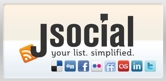 jSocial - A Social Networking Plugin