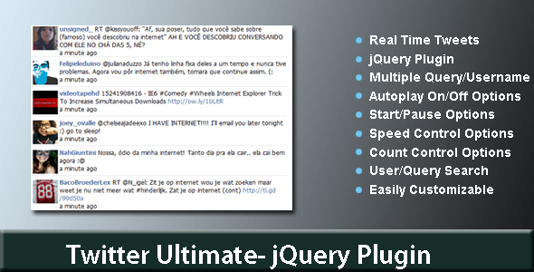 Twitter Ultimate-jQuery Plugin