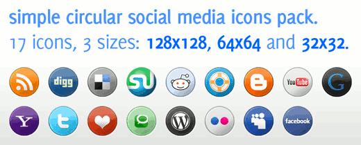 BlogPerfume Social Media Icons Pack