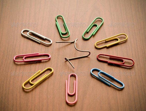 Broken paper clip