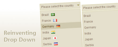 Reinventing a Drop Down with CSS and jQuery