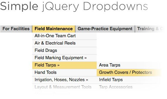 Simple jQuery Dropdowns