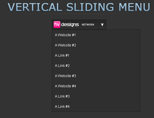 Sliding Menu Tutorial
