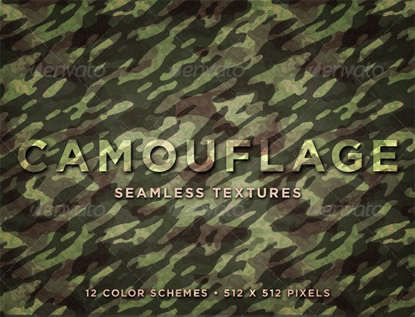Camouflage Seamless Textures