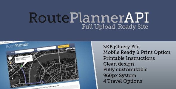 RoutePlanner API