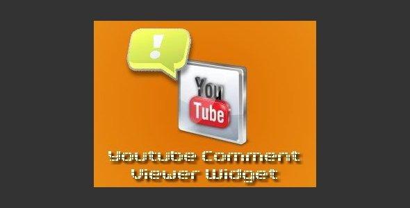 Youtube Comments Widget