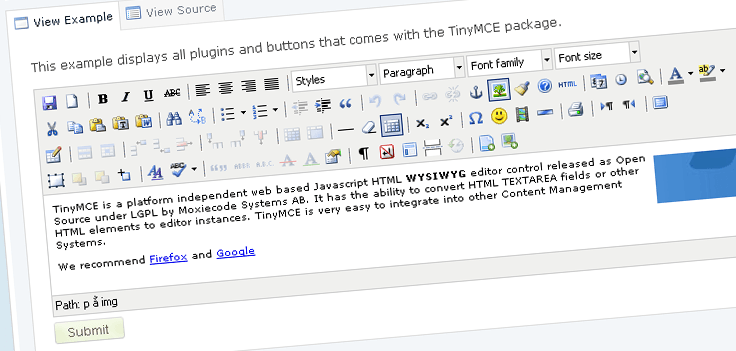 Open Source Wysiwyg Html Editor With Image Upload ••▷ SFB