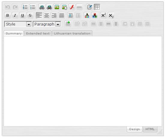 SPAW Editor