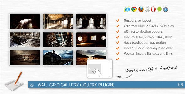 Wall/Grid Gallery (jQuery Plugin)