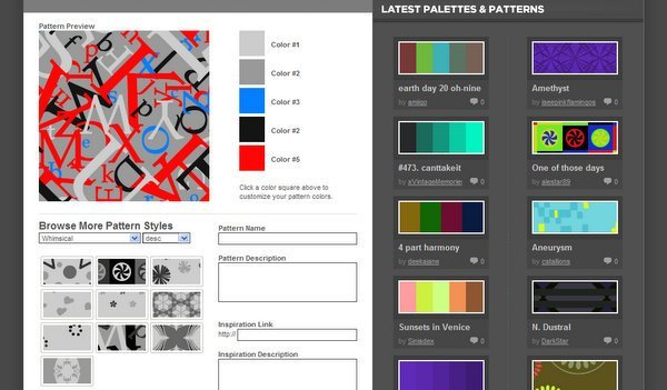ColourLovers Patterns