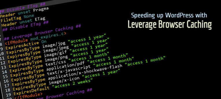 Speeding up WordPress with Leverage Browser Caching - NARGA