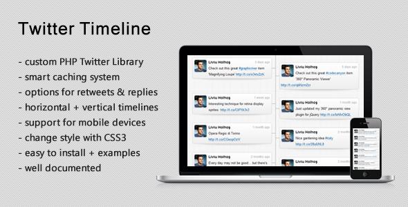 Responsive Twitter Timeline