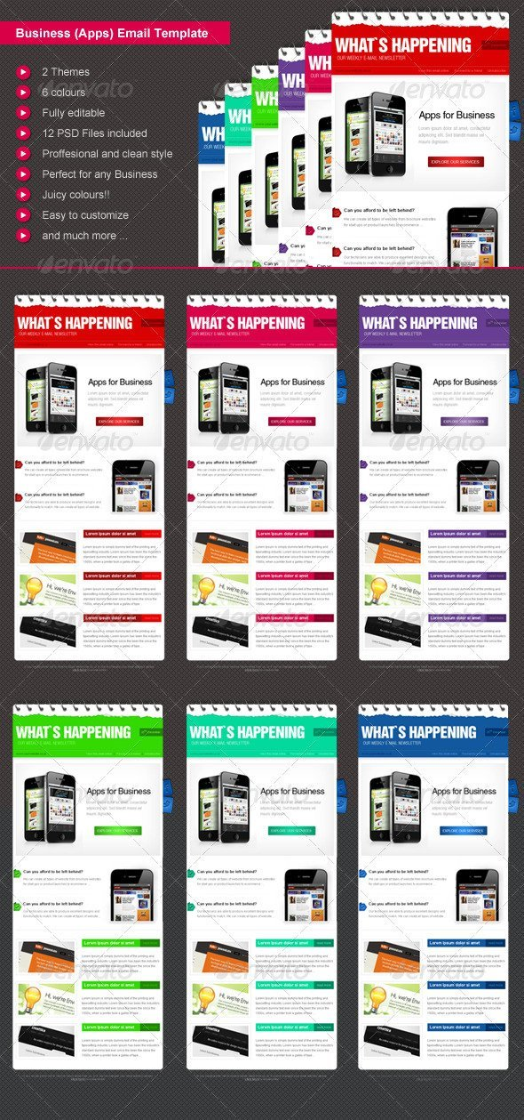 Business eNewsletter Design