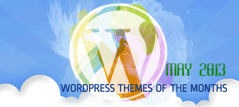 Best FREE & Well-Designed WordPress Themes in May 2013