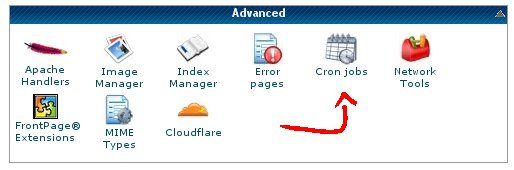 CPanel automatic backup mysql database