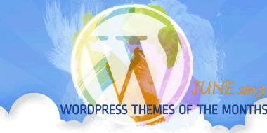 Free Premium WordPress themes of June 2013