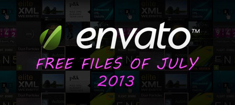 Free Premium Files For July 2013