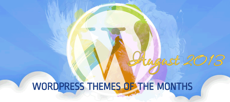Free Premium and Hight Quality WordPress themes August 2013