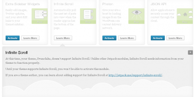How to make your theme support Jetpack's Infinite Scroll feature