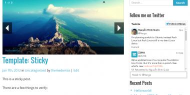 NARGA – FREE Versatile HTML5 Responsive WordPress Starter Theme