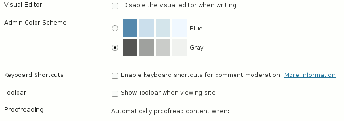 Enable keyboard shortcuts for comment moderation