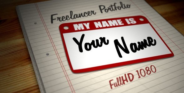 Freelancer Portfolio - Hi, My Name is...