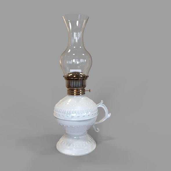 Gas - Oil Lamp