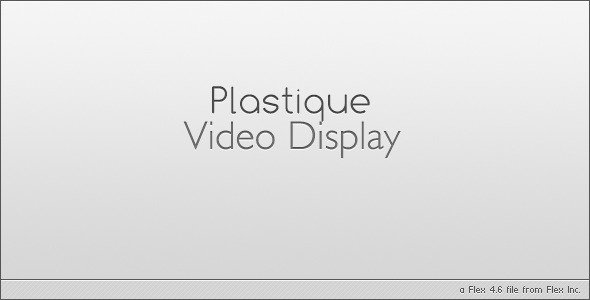Plastique Video Player