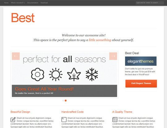 Best Free Premium & Beautiful WordPress Themes September 2013 - NARGA