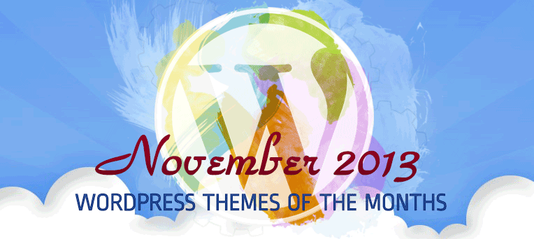 Awe­some Free Premium WordPress Theme November 2013 Edition