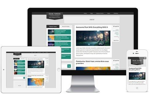 DualShock WordPress Theme