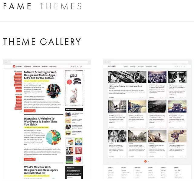 Black Friday and Cyber Monday: Get 60% OFF from FAMEThemes