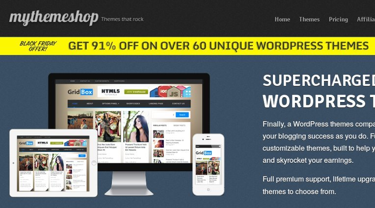 MyThemeShop offer: Grab over 60 Themes for just $8.95