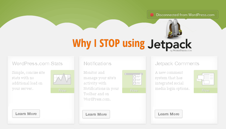Why I stop using Jetpack plugin