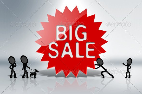 Big Sales Sign