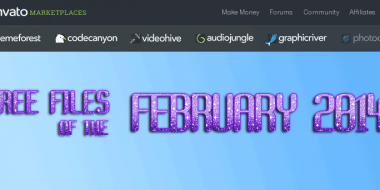 ThemeForest, CodeCanyon FREE files of the month, February 2014
