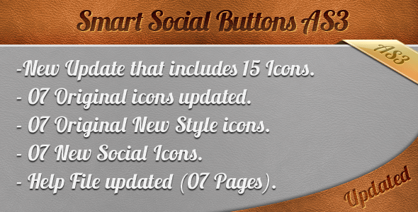 Smart Social Buttons AS3