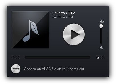 ALACJS - An Apple Lossless decoder in the browser