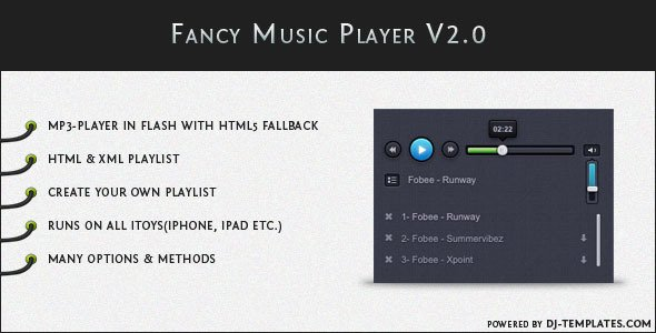 Fancy Music Player