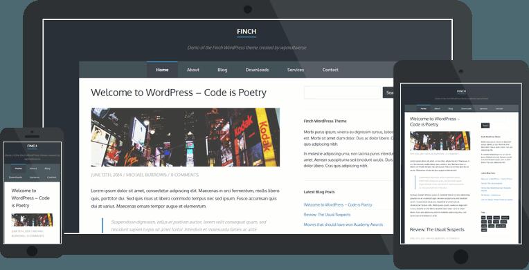 Most Beautiful & FREE WordPress Themes of October 2014 - NARGA