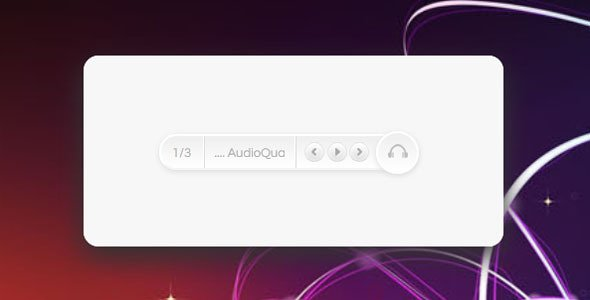 HTML5 Music Player with CSS3 Skins
