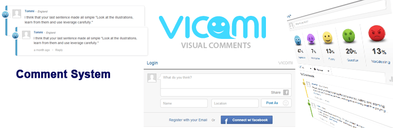 Vicomi Comment System