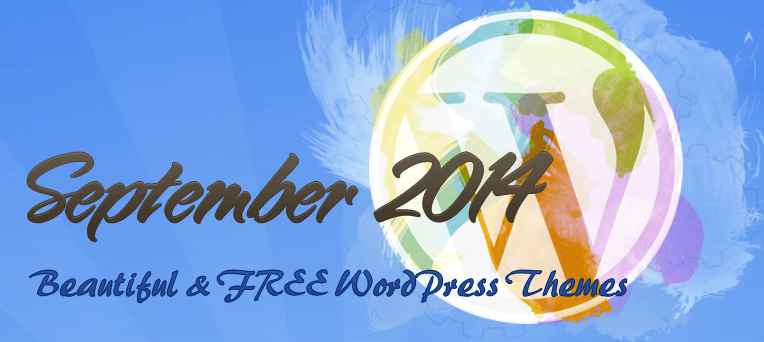 The Most Beautiful and FREE WordPress Themes of September 2014